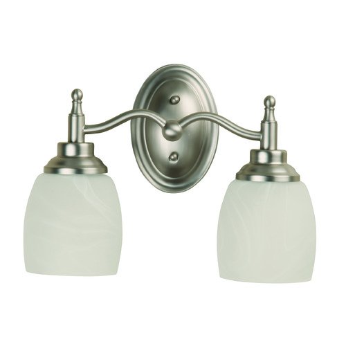 Craftmade Lighting Craftmade Legion Brushed Satin Nickel Bathroom Light 10212BN2