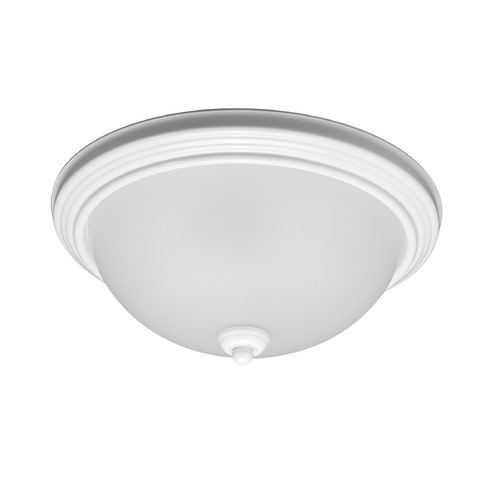 Sea Gull Lighting Sea Gull Lighting Ceiling Flush Mount White Flushmount Light 77063-15