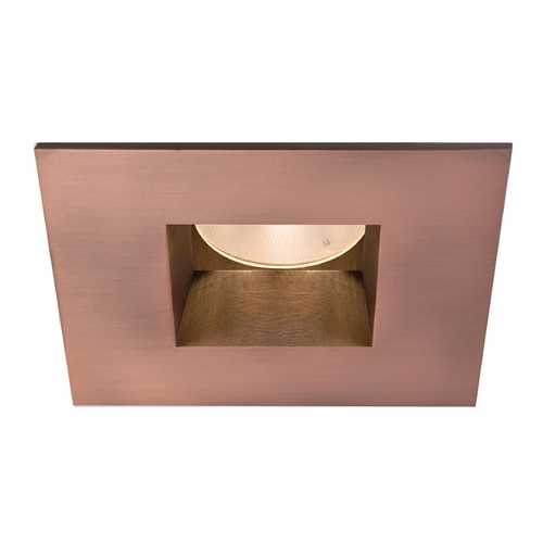 WAC Lighting Wac Lighting Copper Bronze LED Recessed Trim HR-2LED-T709F-W-CB