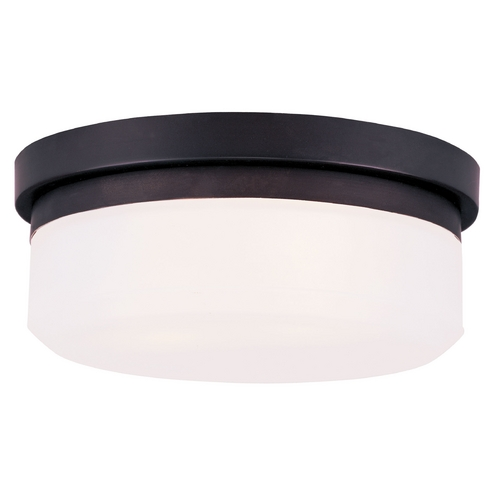 Livex Lighting Livex Lighting Isis Bronze Flushmount Light 7390-07