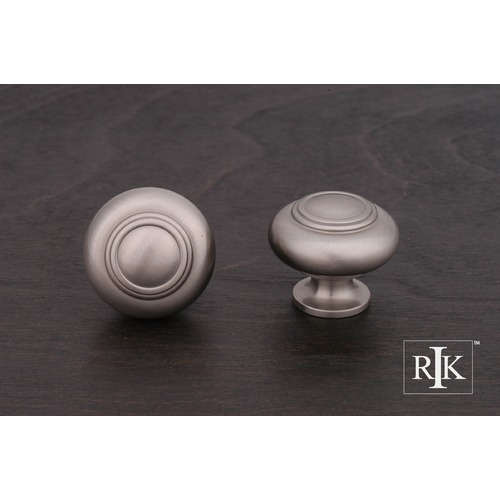 RK International Small Double Ringed Knob CK708P