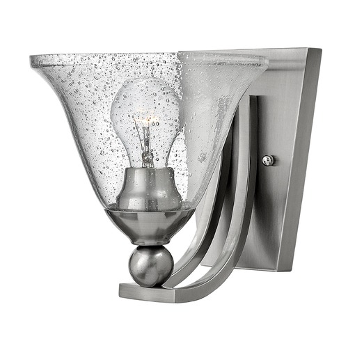 Hinkley Lighting Hinkley Lighting Bolla Brushed Nickel Sconce 4650BN-CL