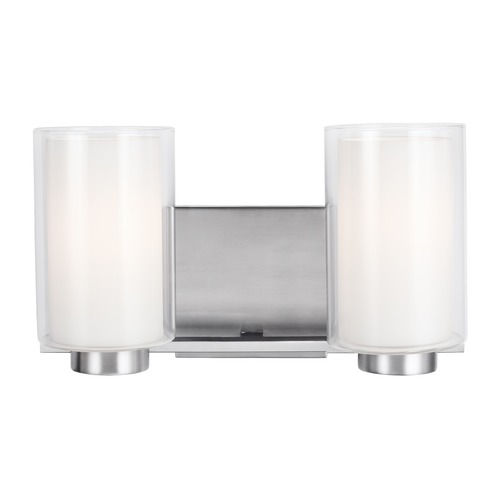 Feiss Lighting Feiss Lighting Bergin Satin Nickel Bathroom Light VS22602SN