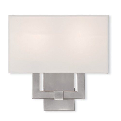Livex Lighting Livex Lighting Hollborn Brushed Nickel Sconce 51103-91