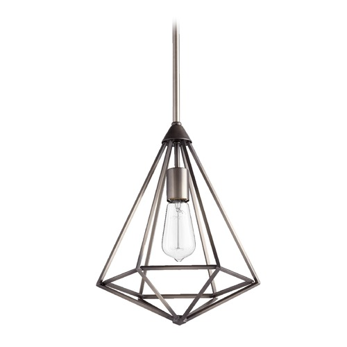 Quorum Lighting Quorum Lighting Bennett Antique Silver Pendant Light 3311-92