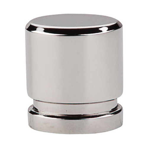 Top Knobs Hardware Modern Cabinet Knob in Polished Nickel Finish TK57PN