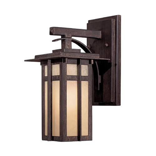 Minka Lavery 12-1/4-Inch Outdoor Wall Light 71191-A357-PL