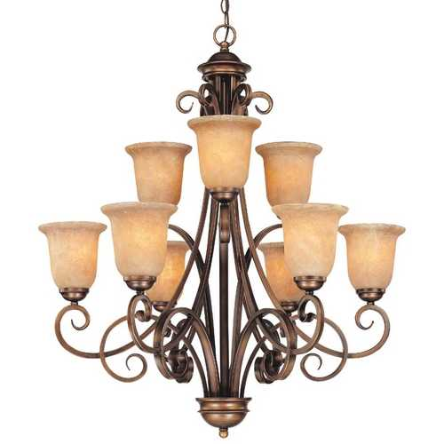 Dolan Designs Lighting Nine-Light Chandelier 2092-133