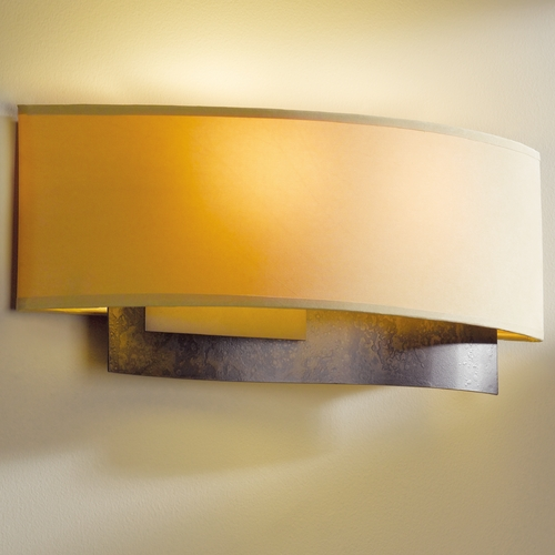 Hubbardton Forge Lighting Hubbardton Forge Lighting Current Dark Smoke Sconce 207650-07-594