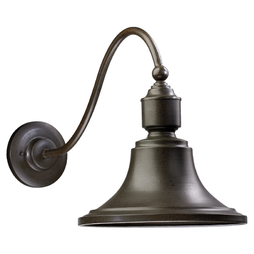 Quorum Lighting Farmhouse Outdoor Wall Light Oiled Bronze by Quorum Lighting 761-86