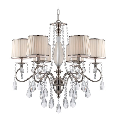 Lite Source Lighting Lite Source Valentine Chrome Chandelier C71311