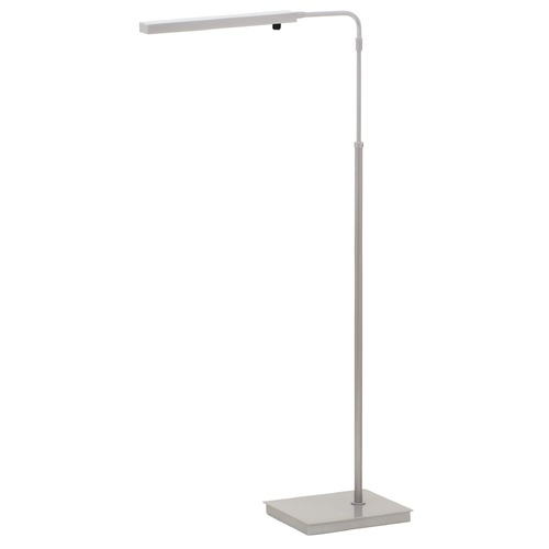 House of Troy Lighting House Of Troy Horizon Task Platinum Gray LED Floor Lamp HLEDZ600-PG