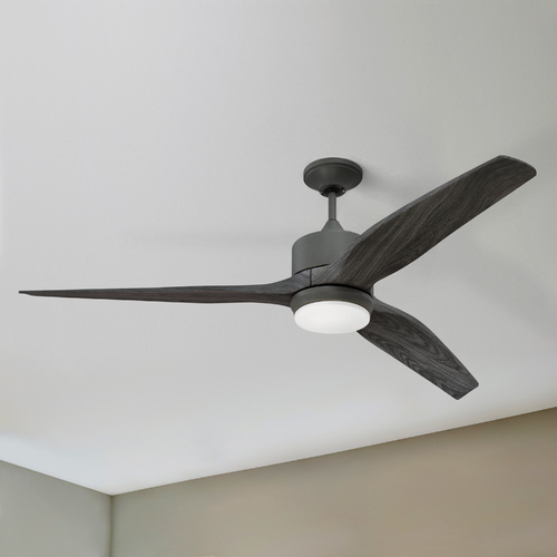 Craftmade Lighting Craftmade Lighting Mobi Aged Galvanized LED Ceiling Fan with Light K11289