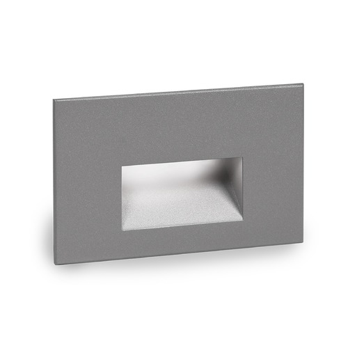 WAC Lighting WAC Lighting Ledme Graphite LED Recessed Step Light with Blue LED WL-LED100-BL-GH
