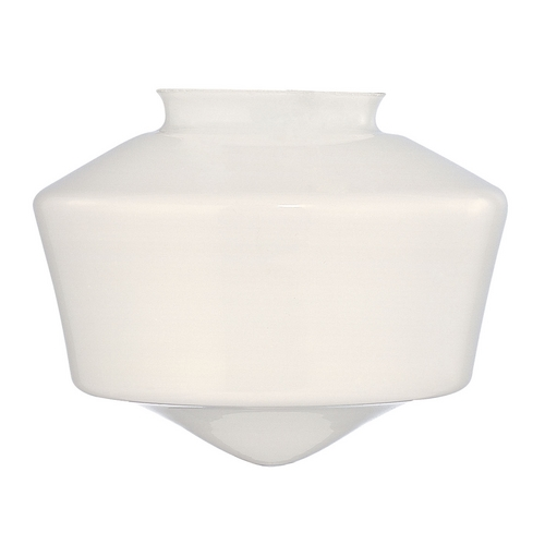Design Classics Lighting Opal White Glass Shade - 3-Inch Fitter Opening GF6