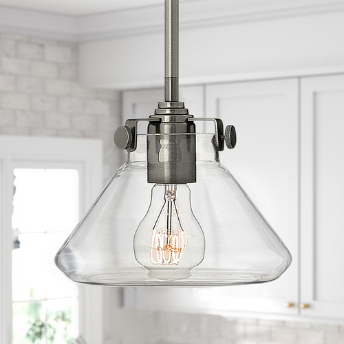 Hinkley Mini-Pendant Light with Clear Glass 3136AN