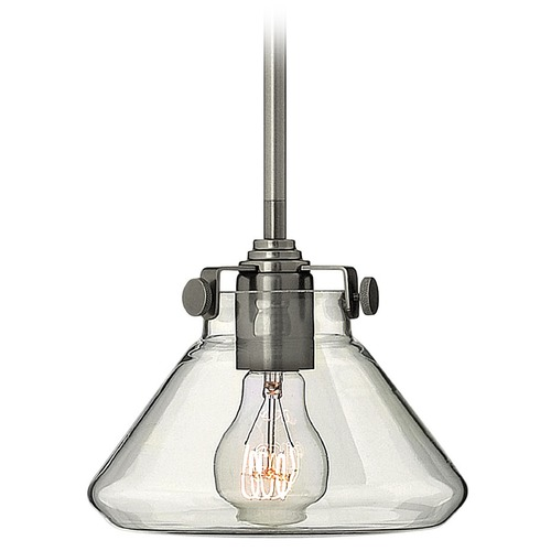 Hinkley Lighting Mini-Pendant Light with Clear Glass 3136AN