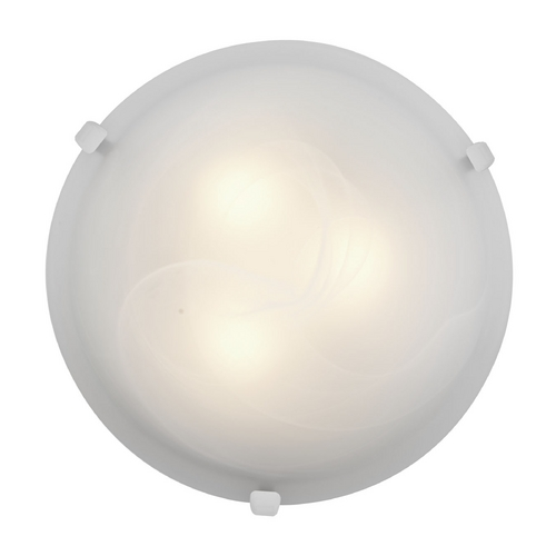 Access Lighting Access Lighting Mona White Flushmount Light C23019WHALBEN1213BS