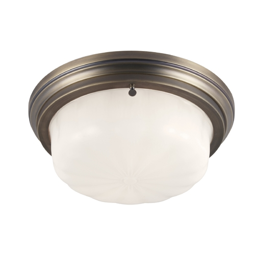 Feiss Lighting Feiss Lighting Portia Satin Bronze Flushmount Light FM383SBZ