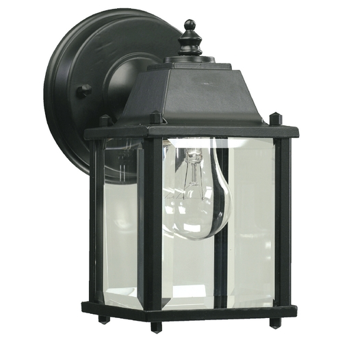 Quorum Lighting Quorum Lighting Black Outdoor Wall Light 780-15