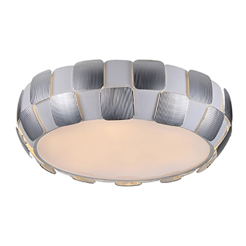 Access Lighting Access Lighting Layers White LED Flushmount Light 50902LEDD-WH/CH