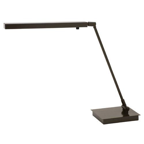 House of Troy Lighting House Of Troy Horizon Task Architectural Bronze LED Desk Lamp HLEDZ650-ABZ