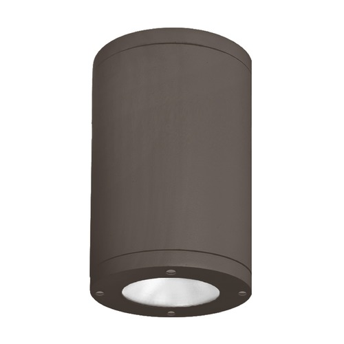 WAC Lighting 5-Inch Bronze LED Tube Architectural Flush Mount 4000K 2320LM DS-CD05-F40-BZ