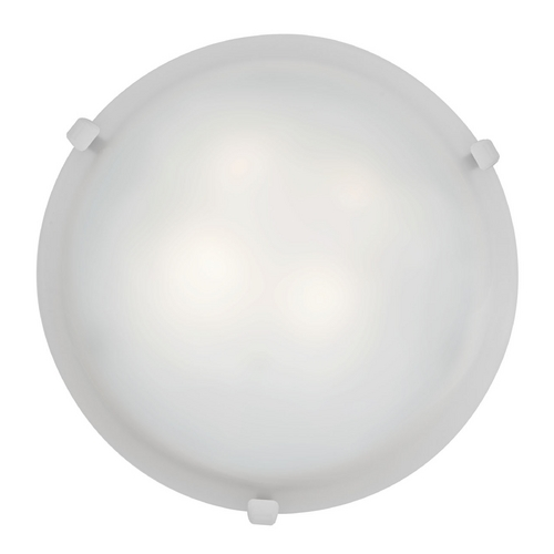 Access Lighting Access Lighting Mona White Flushmount Light C23019WHWHEN1213BS