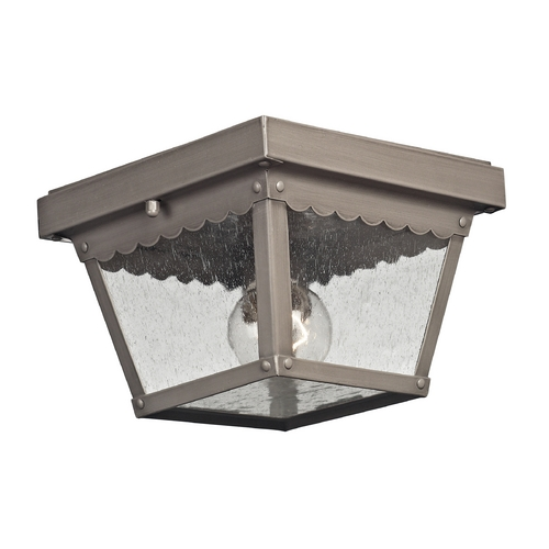 Cornerstone Lighting Cornerstone Lighting Springfield Dark Pewter Close To Ceiling Light 9102EF/80