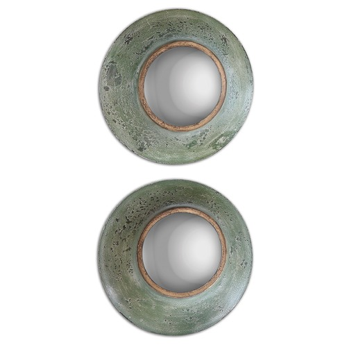 Uttermost Lighting Uttermost Forbell Aged Round Mirrors Set of 2 13860