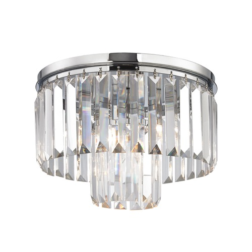 Elk Lighting Elk Lighting Palacial Polished Chrome Semi-Flushmount Light 15213/1