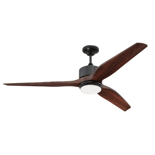 Craftmade Lighting Craftmade Lighting Mobi Oiled Bronze LED Ceiling Fan with Light K11291