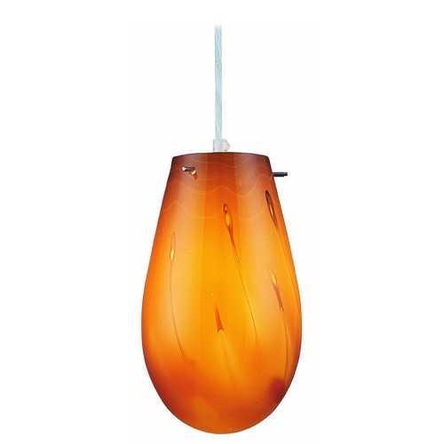 Lite Source Lighting Lite Source Lighting Goccio Mini-Pendant Light with Oval Shade LS-19023