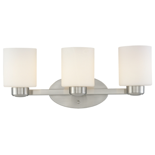 Dolan Designs Lighting Three-Light Bathroom Light 3433-09