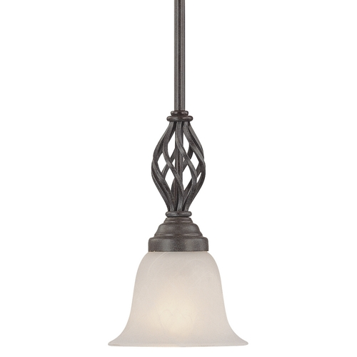 Dolan Designs Lighting Mini-Pendant with Basket Weave Design 186-34
