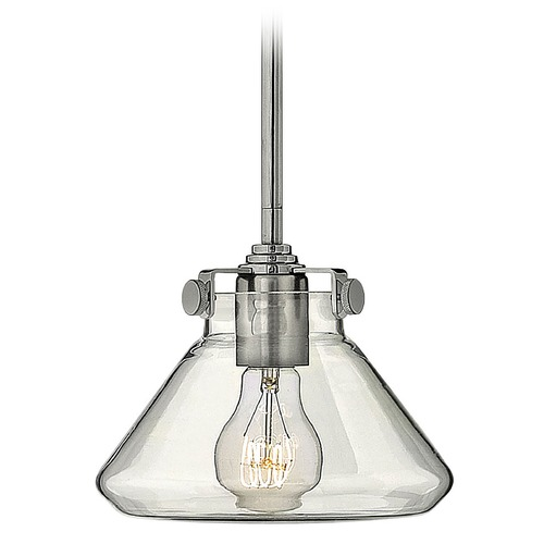 Hinkley Lighting Mini-Pendant Light with Clear Glass 3136CM