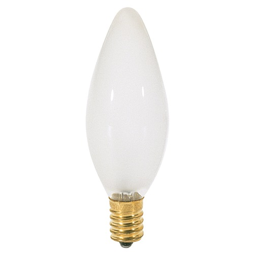 Satco Lighting Incandescent Flame Light Bulb European Base 120V by Satco S4715