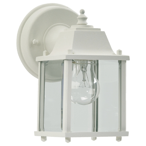 Quorum Lighting Quorum Lighting White Outdoor Wall Light 780-6