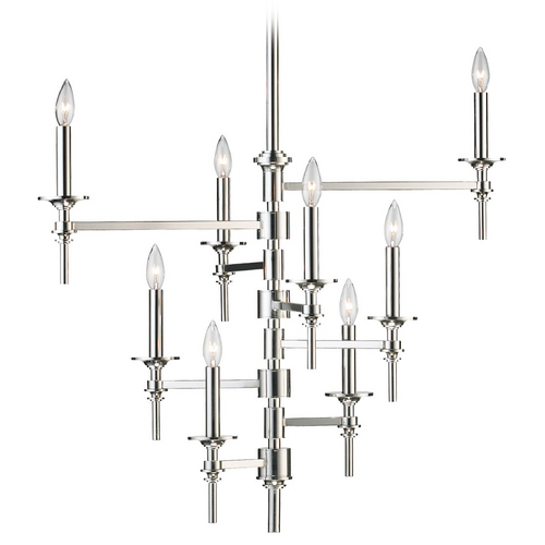 Cyan Design Cyan Design Omega Polished Nickel Chandelier 04182