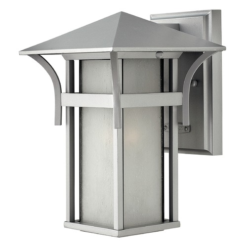 Hinkley Lighting Hinkley Lighting Harbor Titanium LED Outdoor Wall Light 2570TT-LED