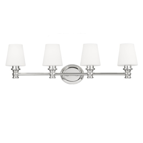 Feiss Lighting Feiss Lighting Xavierre Polished Nickel Bathroom Light VS22104PN