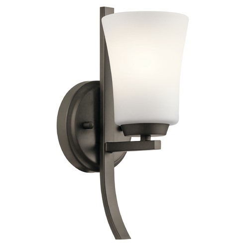 Kichler Lighting Transitional Sconce Olde Bronze Tao by Kichler Lighting 45888OZ
