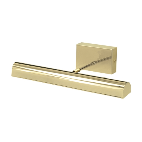 House of Troy Lighting LED Picture Light in Polished Brass Battery Operated by House of Troy BTLED14-61