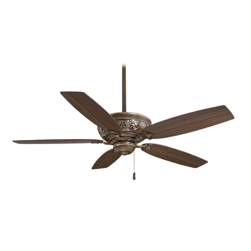 Minka Aire 54-Inch Ceiling Fan Without Light F659-BCW