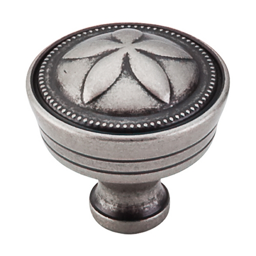 Top Knobs Hardware Cabinet Knob in Pewter Antique Finish M950