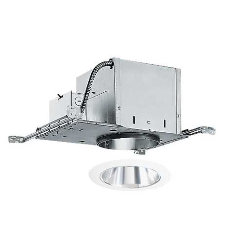 Juno Lighting Group 6-inch Recessed Lighting Kit with Clear Trim IC2/232C-WH