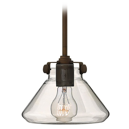 Hinkley Lighting Mini-Pendant Light with Clear Glass 3136OZ