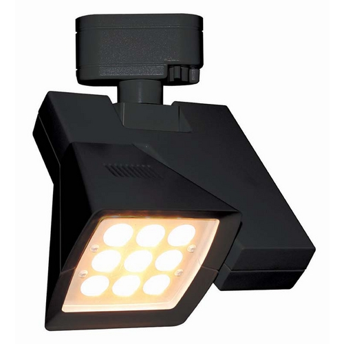 WAC Lighting Wac Lighting Black LED Track Light Head J-LED23F-27-BK