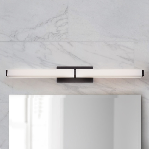 Modern Forms by WAC Lighting Vogue Bronze LED Bathroom Light - Vertical or Horizontal Mounting WS-3139-BZ