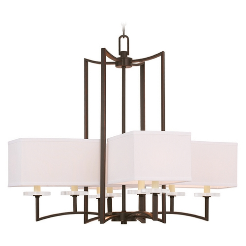 Livex Lighting Livex Lighting Woodland Park Olde Bronze Chandelier 50708-67